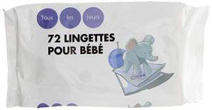 TOUS LES JOURS Lingettes Bébé
