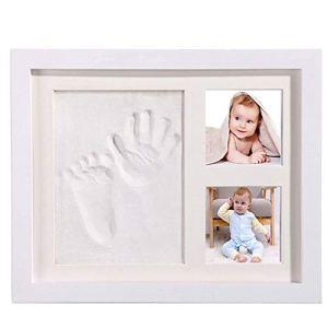 XWSD Kit d'empreinte de Main pour bébé Art Memorial Photo Frame, il est Rapide et Facile à Utiliser, préserve Les Souvenirs pour Toujours, pour Cadeau de bébé Nouveau-né
