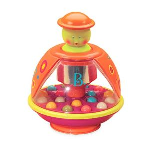 B. Toys Poppitoppy d'éveil avec billes – jouet de premier âge sensoriel et musical – pour enfants âgés de 1 an et plus, BX1119, Multicolore, 19 x 15 x 15 cm