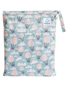 Maman et bb Nature – Balloon – Sac imperméable pour couches lavables 2 poches