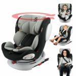 Siège auto isofix SEATY 360° groupe 0+/1/2/3 (0-36kg), évolutif et grand confort – Safety Baby