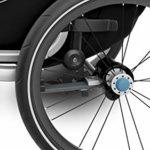 THULE 1020300 Poussette pour vélo blue grass/noir