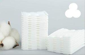 YYGUI Coussin de coton jetable blanc sandwich double face double effet nettoyant coton 200 comprimés de nettoyage humide application des outils de beauté