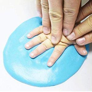 Baby handprint Schlamm – Blau