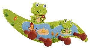 BIECO 23932195 Kindergarderobe Froggy, vert