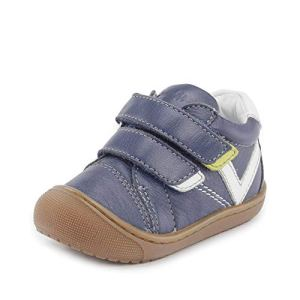 Lurchi ILO, Chaussure de première randonnée bébé garçon, Marine, 26 EU