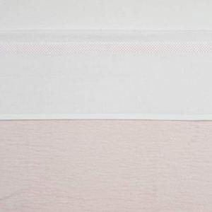 Meyco 413018 Drap housse avec passepoil Rose clair 75 x 100 cm