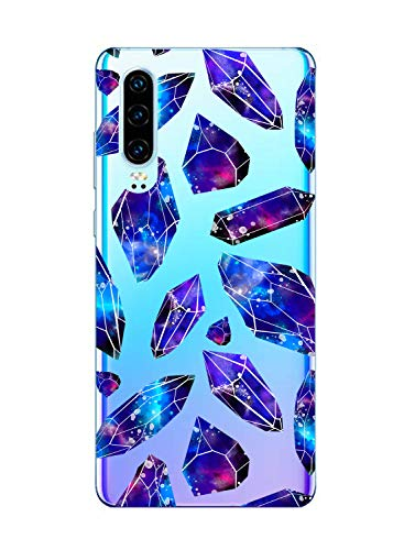 Oihxse Mode Motif de Diamant Case Compatible pour Motorola Moto G7 Play Coque Silicone Ultra Mince Transparent Souple Bumper Crystal Clair Anti-Rayures Antichoc Protection Cover,Diamant 7