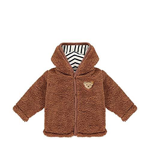 Steiff mit süßer Teddybärapplikation Jacket, Chaussures de Running Compétition, 9 Mois Bébé Fille