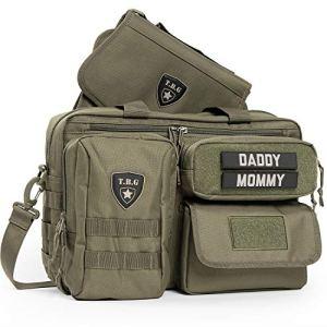 Tactical Baby Gear Sac à couches tactique Deuce 2.0 avec matelas à langer (Ranger vert)
