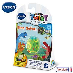 VTech – RockIt TWIST – Jeu Dino Safari, jeu console éducative