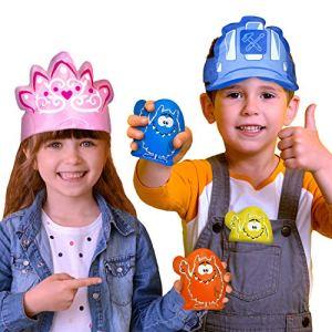5 x Poches Gel pour Enfants pour un Soulagement Instantané de la Douleur : Compresses Froides pour Enfants, Nourrissons et Bébés. Idéal pour les Bosses, les Bleus, les Coups et les Bobos!