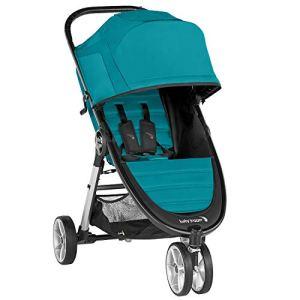 BabyJoggerCityMini2 poussette légère, 3roues, pliage rapide à une main, capri (turquoise)