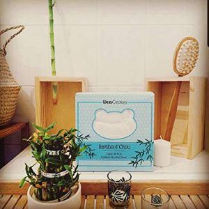 Bambout'chou By WeesCreations Cape de bain Extra Douce | 100% Bambou | Antibactérien et Hypoallergénique | Garde Bébé au Sec et au Chaud | Taillée pour Bébé et Enfants