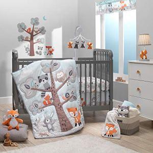 Bedtime Originals Woodland Friends Parure de lit 3 pièces pour berceau Multicolore