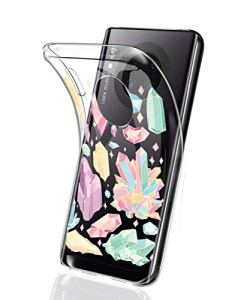 Oihxse Mode Motif de Diamant Case Compatible pour Xiaomi Redmi 10X Rro Coque Silicone Ultra Mince Transparent Souple Bumper Crystal Clair Anti-Rayures Antichoc Protection Cover,Diamant 8
