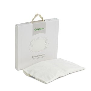 The Little Green Sheep 70 x 140 cm Organic Cot Bed Jersey Fitted Sheet