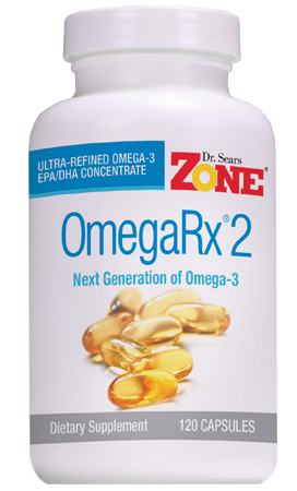 Dr Sears Omegarx 2 Fish Oil 120 Capsules