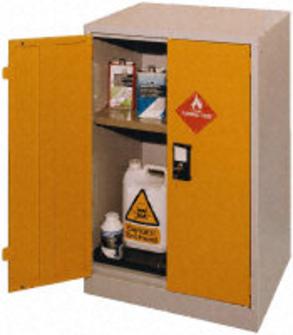armoire de stockage pour produits chimiques liquides inflammables