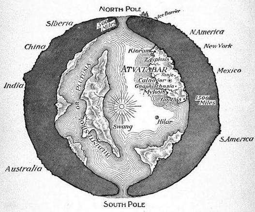 Terre creuse