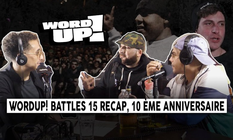 Photo of WordUP! Battles 15 Recap, 10ème anniversaire, Freddy Gruesum, Krome ǁ ONZMTL CONVO #2