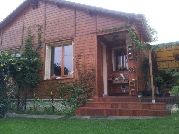 Pose Bardage Bois Sur Lu0027extérieur De La Maison