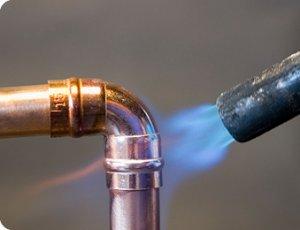 Brasure plomberie cuivre