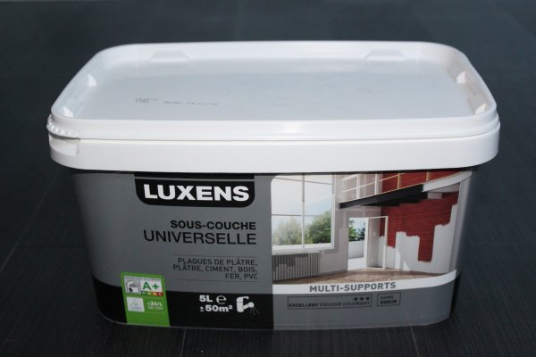 Test  SousCouche Universelle Luxens
