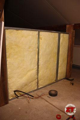 cloison placo pose isolant zonetravaux bricolage d coration outillage jardinage. Black Bedroom Furniture Sets. Home Design Ideas