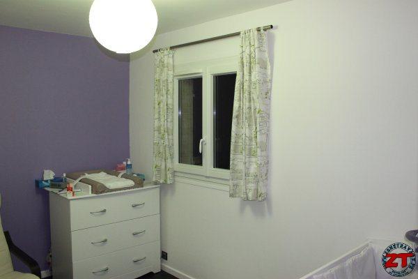 Toutes les tapes pour r nover une chambre - Comment installer une tringle a rideaux ...