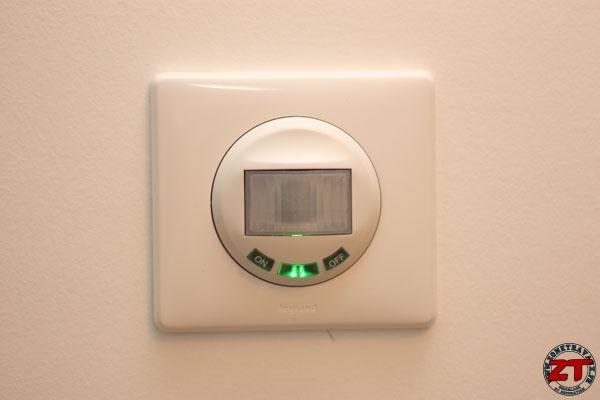 Test l 39 interrupteur automatique legrand - Interrupteur detecteur de mouvement ...