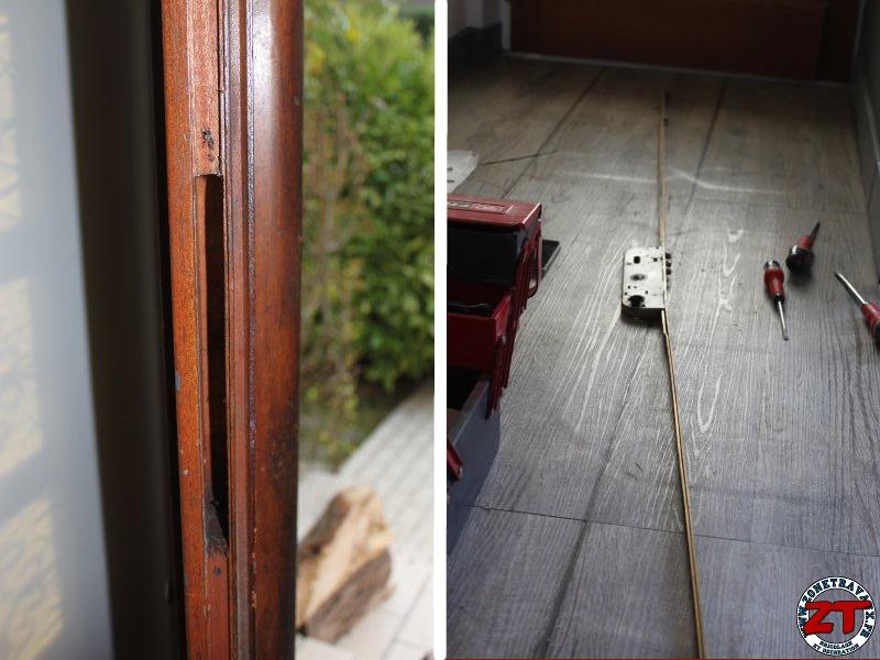 Changer Serrure Porte Chambre Dévissez Les Poignées Comment - Changer serrure porte chambre