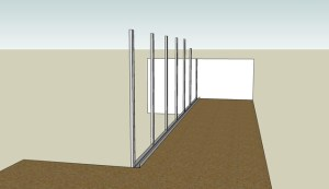 tuto bricolage r alisation d 39 un garde corps en placo. Black Bedroom Furniture Sets. Home Design Ideas