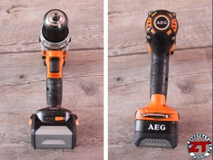 AEG Powertools Perceuse percuteuse BSB 18 CLI 402C (18)