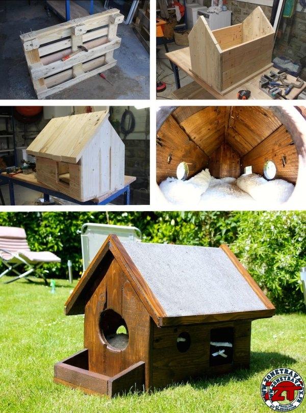 tuto construire une cabane pour chat
