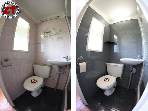 tuto : rénover une salle d'eau avec résinence color - Repeindre Une Baignoire Avec Resinence