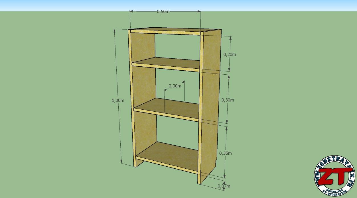 tuto fabriquer une etagere bibliotheque