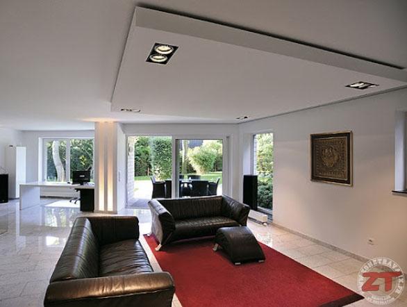 Brico cr ation d un faux plafond avec ruban led et spots - Comment rabaisser un plafond en placo ...