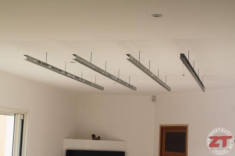 Fabuleux Brico : Création d'un faux plafond avec Ruban LED et Spots QT98