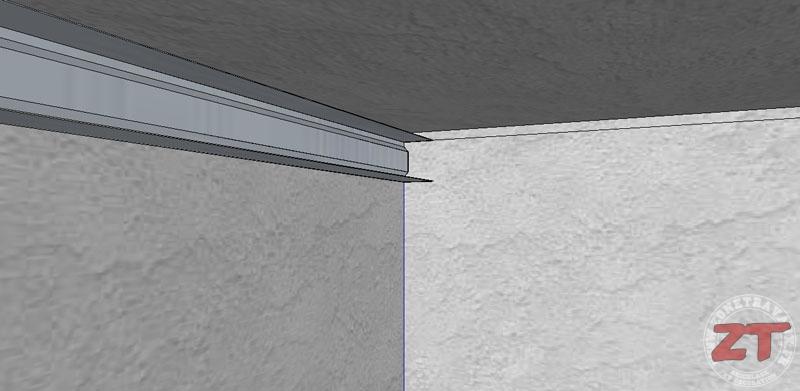 Faux plafond auto porteur 03 zonetravaux bricolage d coration outillage jardinage - Fabriquer un faux plafond ...