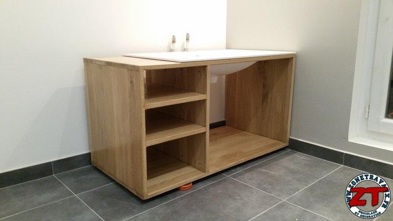 Tuto Fabriquer un meuble vasque de salle de bain # Fabriquer Un Meuble De Salle De Bain En Bois