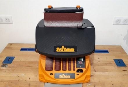 TRITON TSPST450 : Ponceuse à bande et Cylindre