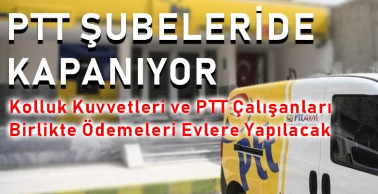 PTT'den Şok Karar