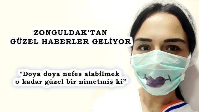 Özge Hemşire Korona Virüsünü Yendi