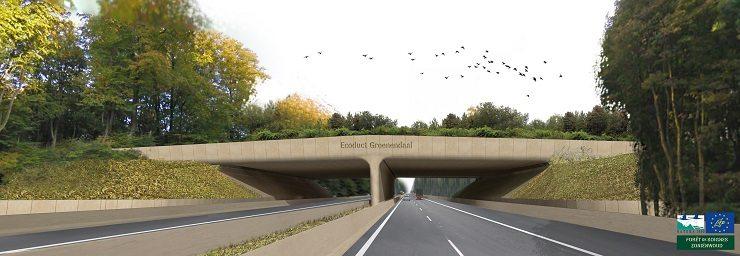 Foto Ecoduct Groenendaal