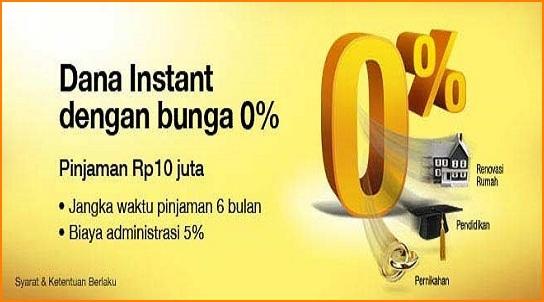 Syarat Pengajuan Kredit Tanpa Agunan (KTA) Dana Instant Bank Danamon