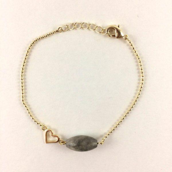 Armband met kwarts quartz