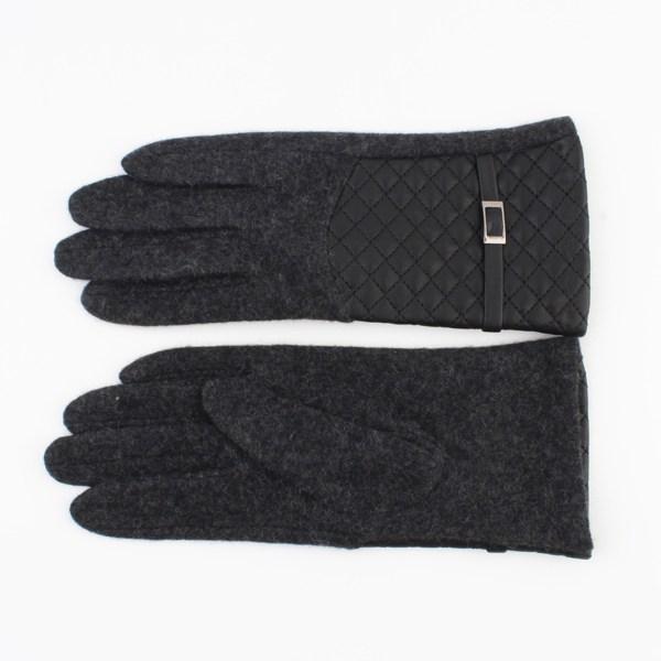 Handschoenen katoen polyester antraciet maat 7