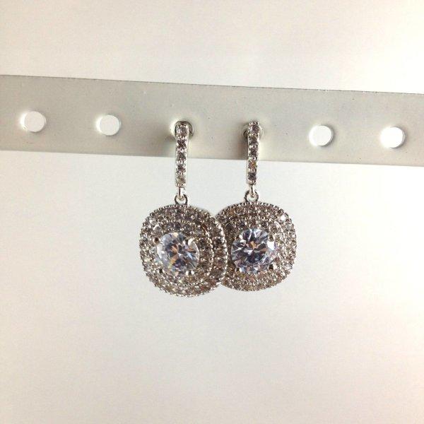 Kleine zilverkleurige oorbellen voor elke dag mooie oorbellen zonnig zilver O12