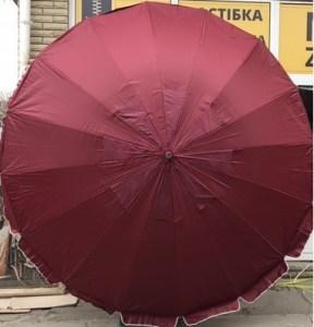 зонт для летней площадки кафе